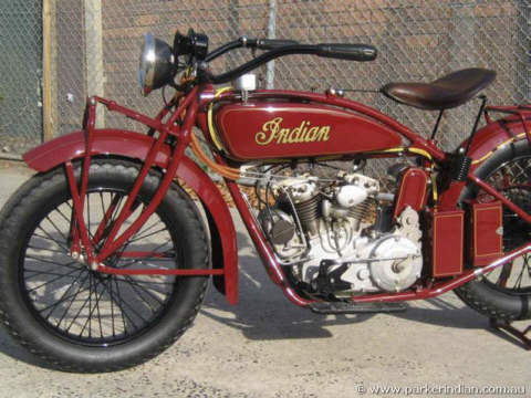 Indian Scout 1925